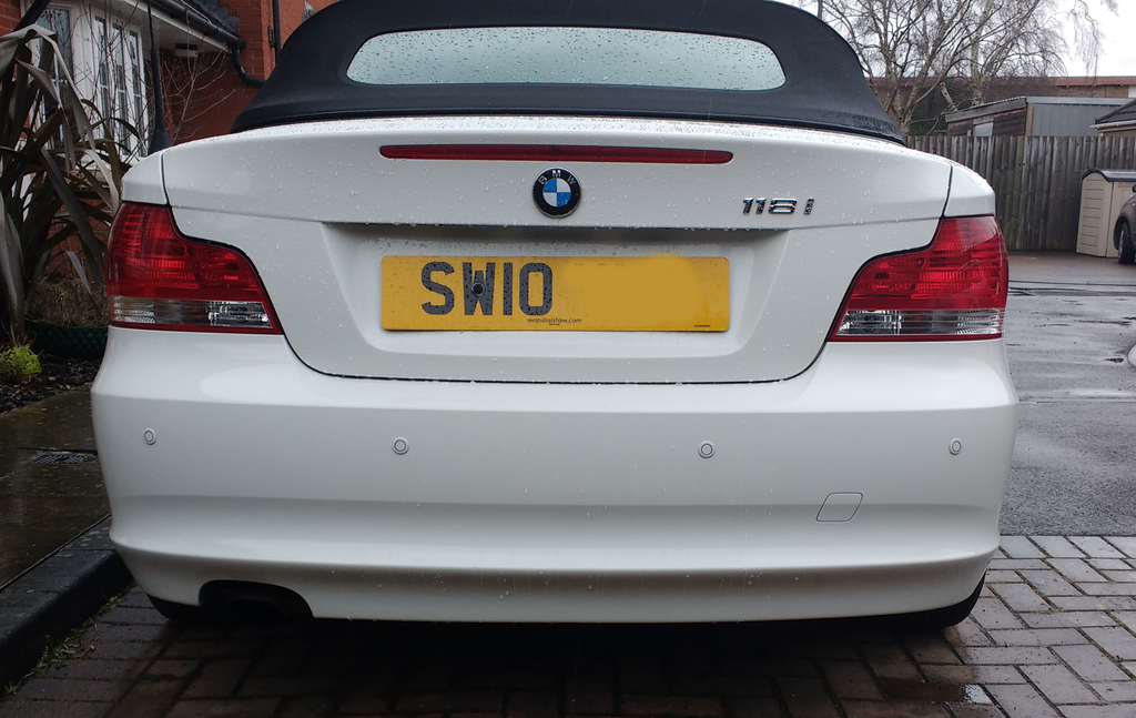Reverse Parking Sensors Fitted In Bristol, Bath, Somerset, Wiltshire,
